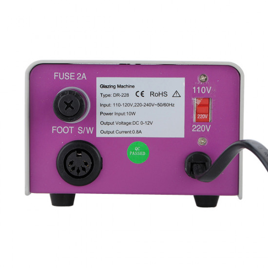220V Voltage Nail Acrylic Manicure Pedicure Drill Machine Set Kit 2021