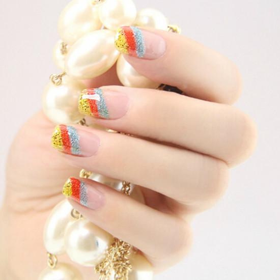 5ml Glitter Line Drawing Shiny Painting Nail Polish Enamel 2021