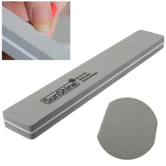 Double Sided Manicure Sponge Nail Buffer Block File Shiner 2021