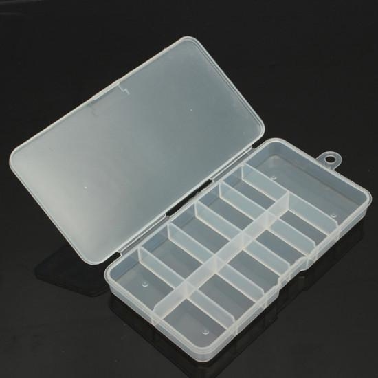 Gems Rhinestone Transparent Nail Art Tips Storage Box Container 2021