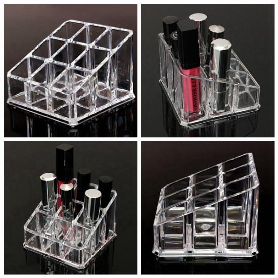 Lipstick Nail Polish Makeup Cosmetic Storage Display Stand Holder 2021