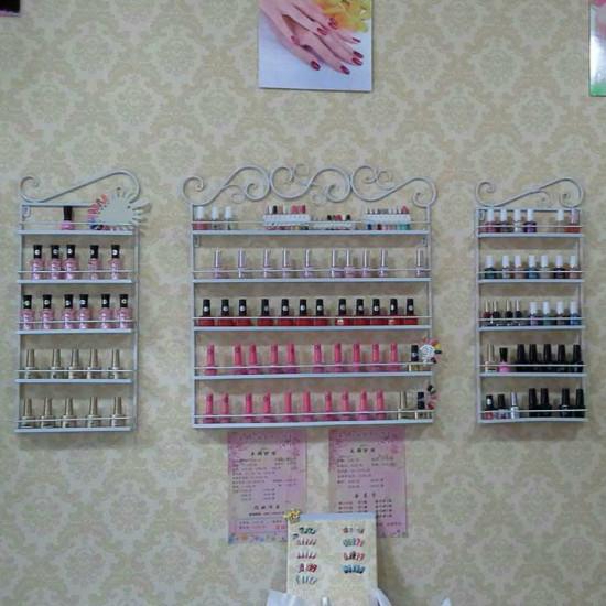 Nail Polish Wall Rack Hanging Display Stand Storage Shelf 2021