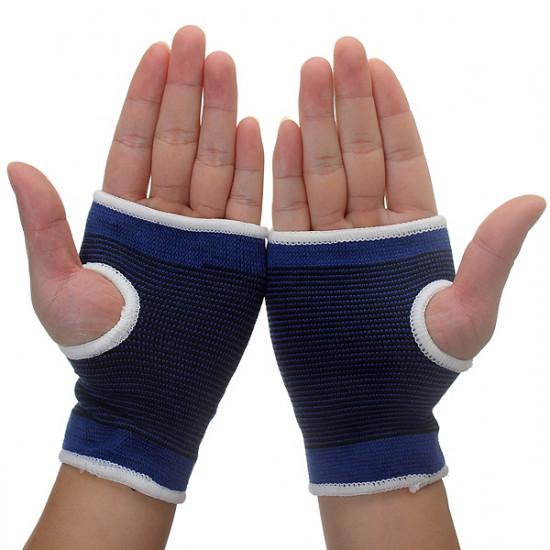 Elastic Palm Wrist Hand Support Glove Sport Gym Wrap Brace 2021