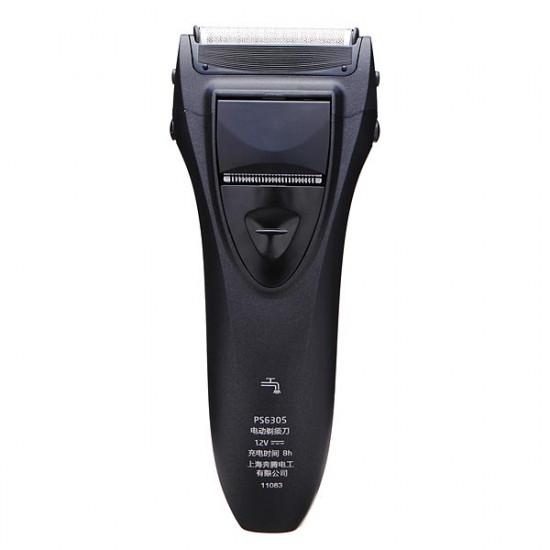 POVOS PS6305 Washable Electric Rechargeable Foil Razor Shaver 2021