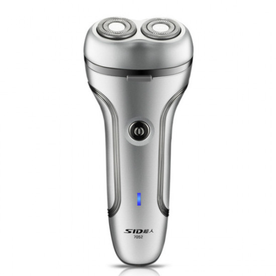 SID SA7052 Electric Rotary Shaver Rechargeable 2 Heads Razor 2021