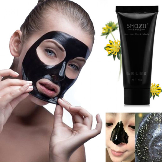 Deep Cleansing Remove Blackhead Facial Mask Suction Whitening Mud 2021