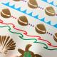 Colorful Gold Turtle Metallic Temporary Tattoos Body Art Sticker 2021