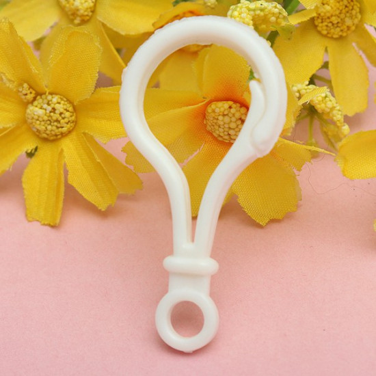 5pcs Cute Colorful Plastic Lobster Clasps Key Chain Keyrings 2021