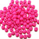 100Pcs 5mm Colorful Acrylic Spacer Loose Beads Jewelry Making 2021
