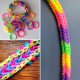300Pcs Colorful Pearl Beaded Loom Rubber Bands With Clips DIY Bracelet 2021