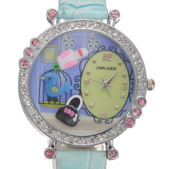 Crystal Beads Cartoon Resin Wrist Watch 2021