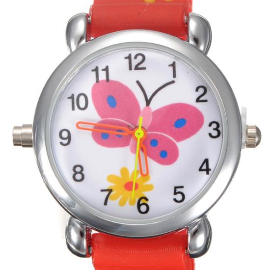 Kid Butterfly Wrist Watch Random Color 2021