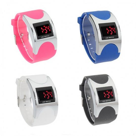 LED Arced Wrist Watch 2021