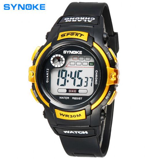 SYNOKE 99569 Children Luminous Digital Waterproof Sport Watch 2021