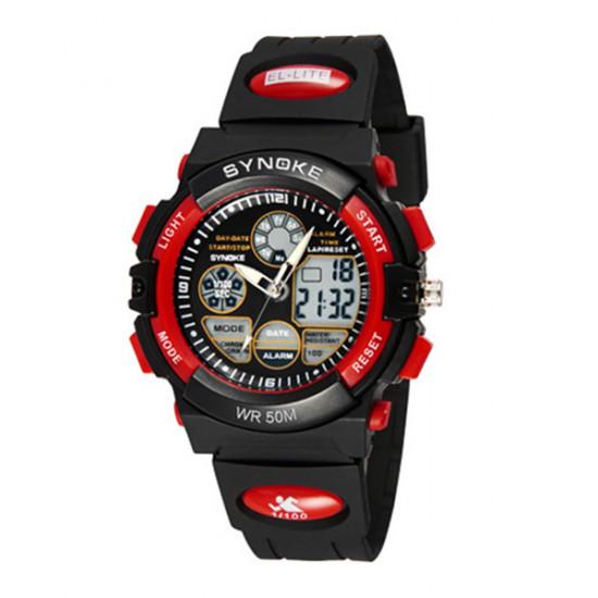SYNOKE Children Alarm Stopwatch Waterproof Digital Sport Watch 2021
