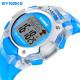 SYNOKE Fashion Children Waterproof Sport PU Digital Wristwatch 2021