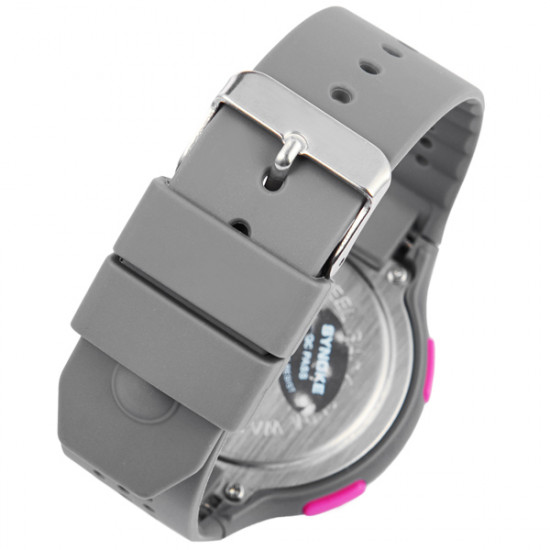 SYNOKE Silicone Jelly Swim Waterproof Alarm Sport Digital Watch 2021