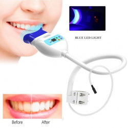 Desk Clip Blue LED Light Teeth Whitening Lamp Machine Home Use Medical