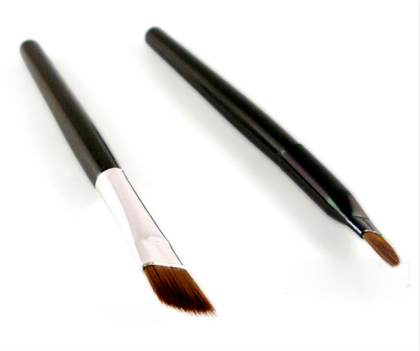 Buy Black Brown Color Long-wear Gel Eyeliner Brush Set