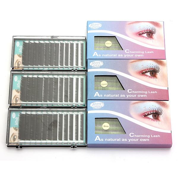 0fdbe079044 Buy Professional False Eyelash Extension Glue Brush Kit Set Tool Box    Crea-Diem.com