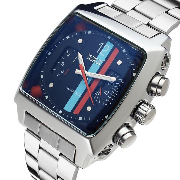 Buy JARAGAR Automatic Mechanical Square Fashion Commercial Men Wrist Watch   e48351782df