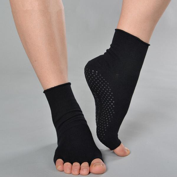 Buy yoga socks cotton sports exercise pilates massage sock crea diem